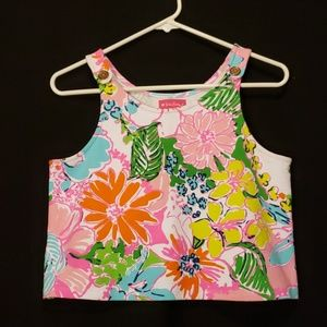 Lilly Pulitzer for Target Cropped Tank Top